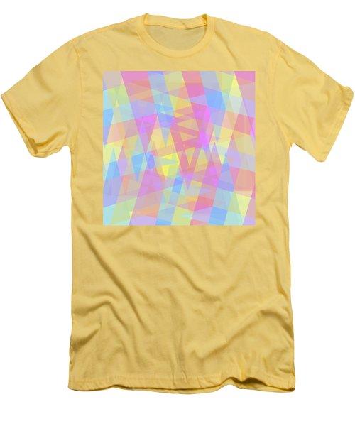 Triangle Jumble 2 Men's T-Shirt (Athletic Fit)