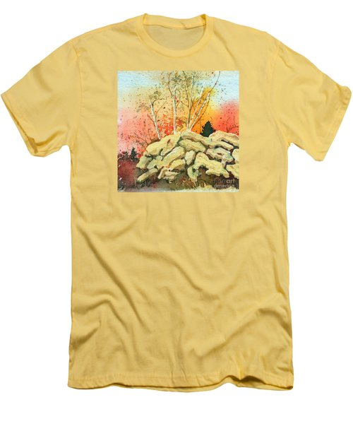 Triptych Panel 2 Men's T-Shirt (Athletic Fit)
