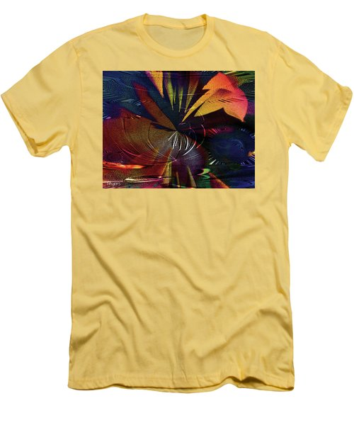Tropicale Men's T-Shirt (Slim Fit) by Paula Ayers