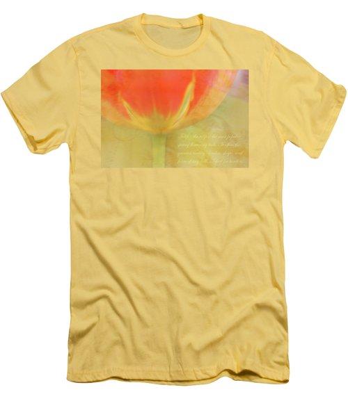Tulip Men's T-Shirt (Slim Fit) by Catherine Alfidi