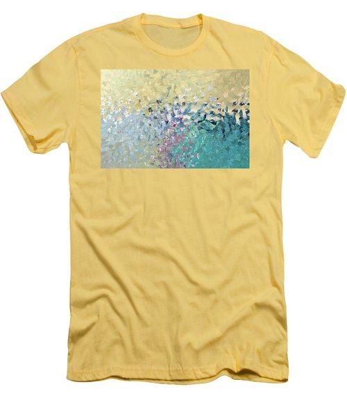 Turn Pain Into Purpose. Luke 8 39 Men's T-Shirt (Slim Fit) by Mark Lawrence