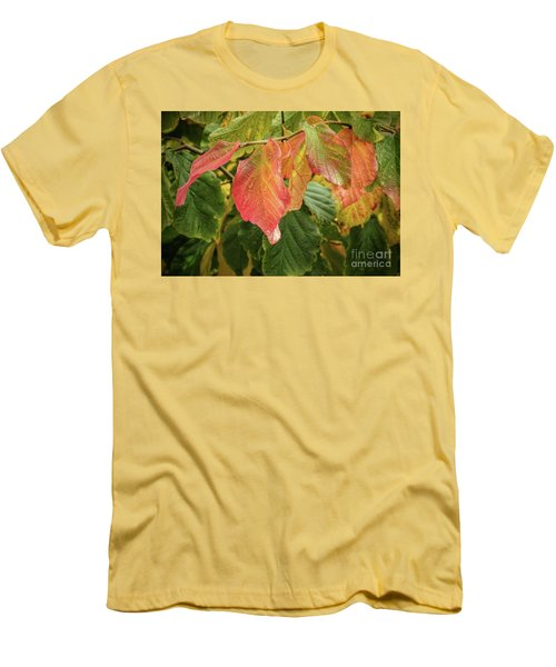 Men's T-Shirt (Athletic Fit) featuring the photograph Turning by Peggy Hughes