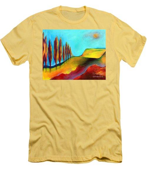 Tuscan Sentinels Men's T-Shirt (Slim Fit) by Elizabeth Fontaine-Barr