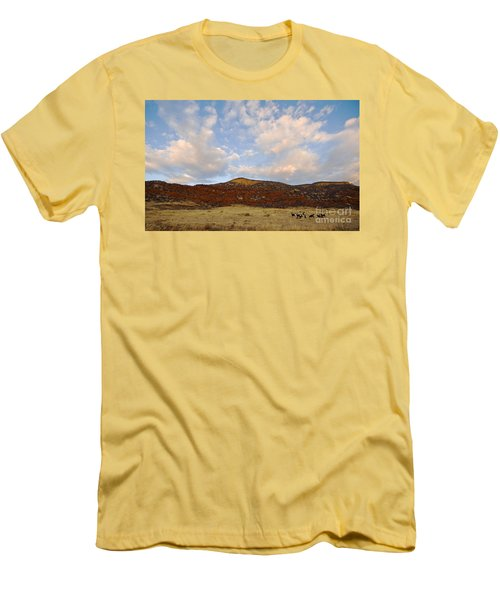 Under The Colorado Sky Men's T-Shirt (Athletic Fit)