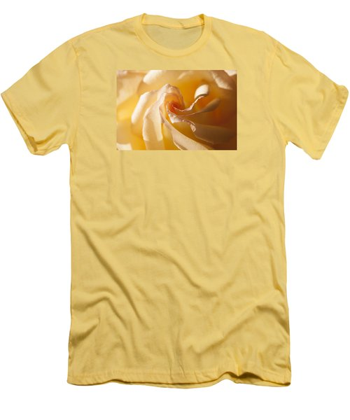 Men's T-Shirt (Slim Fit) featuring the photograph Unfurling by Christina Lihani