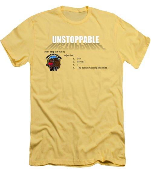 Unstoppable V1 Men's T-Shirt (Athletic Fit)