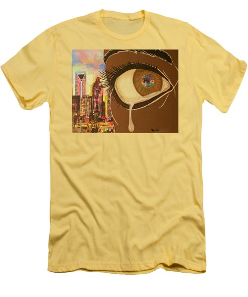 Untitled Tears Men's T-Shirt (Athletic Fit)