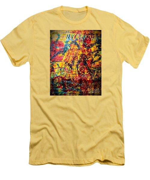 Urban Grunge Four Men's T-Shirt (Slim Fit) by Ken Frischkorn
