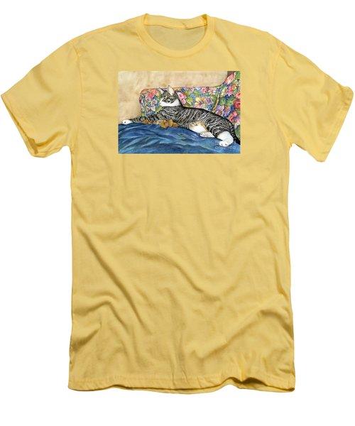 Urban Jungle Men's T-Shirt (Slim Fit) by Shari Nees