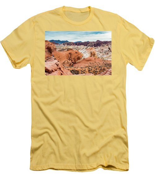 Valley Of Fire  Men's T-Shirt (Athletic Fit)