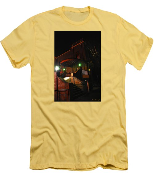 Vancouver Arts Building Men's T-Shirt (Slim Fit) by Steve Warnstaff