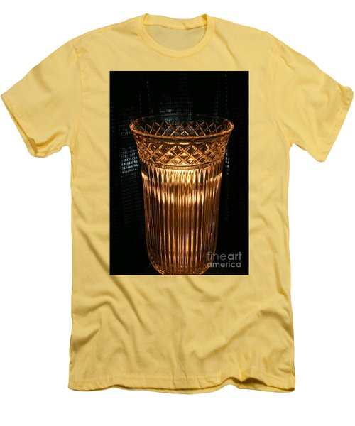 Vase In Amber Light Men's T-Shirt (Athletic Fit)