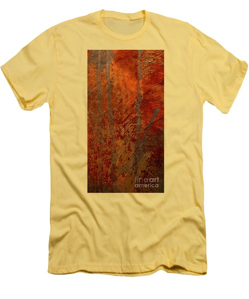 Men's T-Shirt (Slim Fit) featuring the mixed media Venice by Michael Rock
