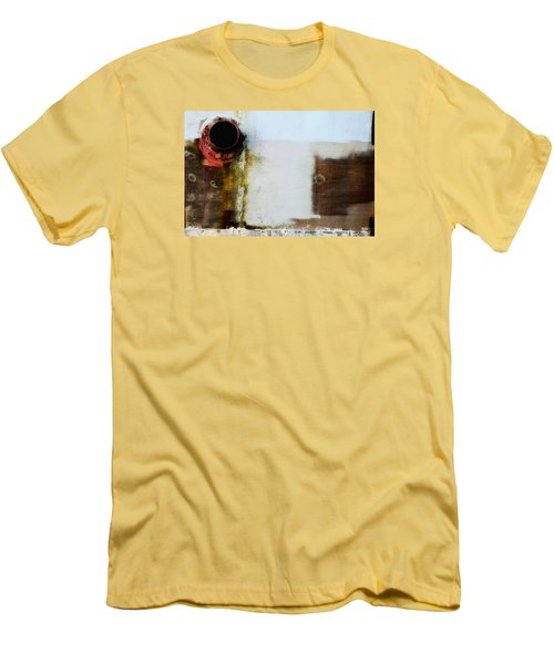 Men's T-Shirt (Slim Fit) featuring the photograph Vent by Newel Hunter