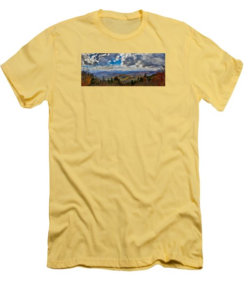 Vermont Autumn From Mt. Ascutney Men's T-Shirt (Athletic Fit)
