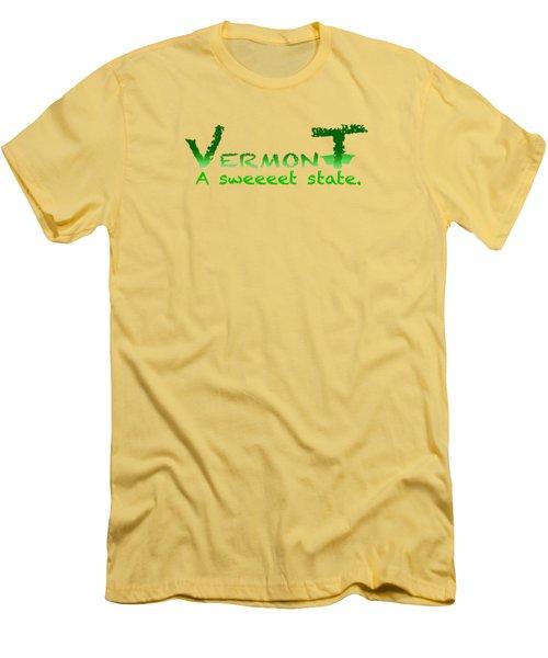 Vermont Sweeet Men's T-Shirt (Athletic Fit)