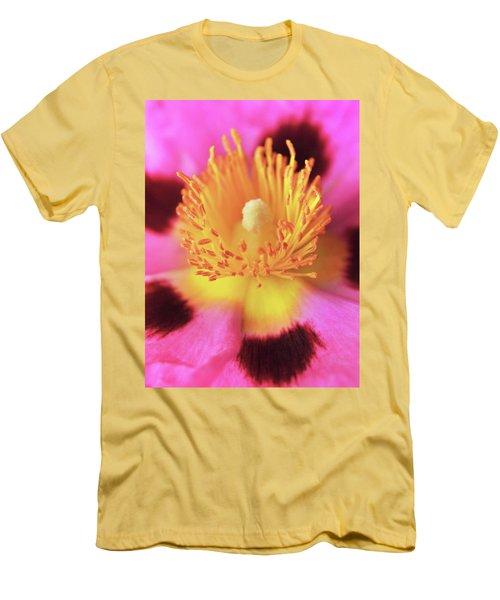 Vibrant Cistus Heart. Men's T-Shirt (Athletic Fit)