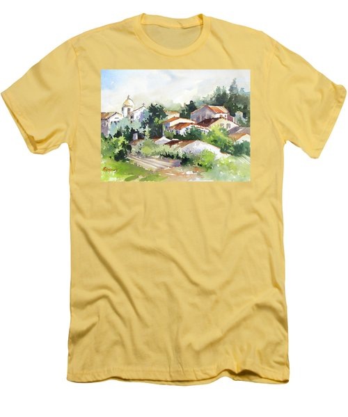 Village Life 5 Men's T-Shirt (Slim Fit)