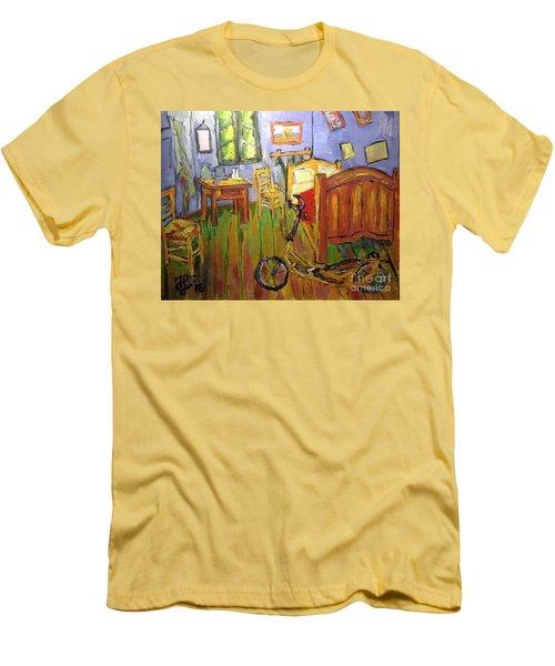 Vincent Van Go's Bedroom Men's T-Shirt (Athletic Fit)