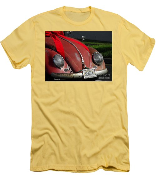 Vintage Volkswagen Men's T-Shirt (Athletic Fit)
