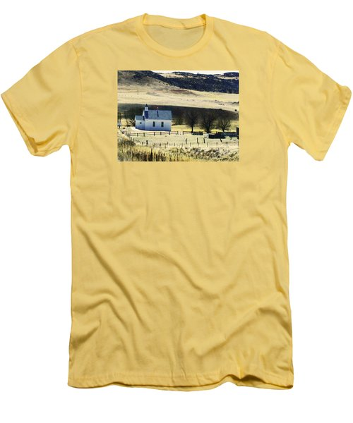 Virginia Dale Colorado Men's T-Shirt (Slim Fit)