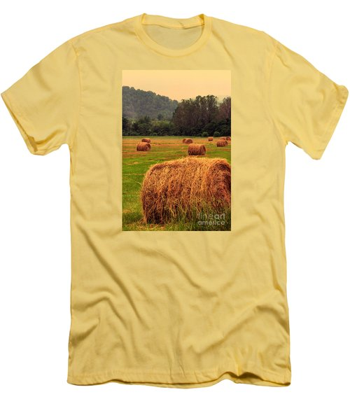 Virginia Evening Men's T-Shirt (Slim Fit) by Thomas R Fletcher