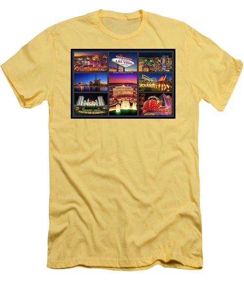 Viva Las Vegas Collection Men's T-Shirt (Slim Fit) by Aloha Art
