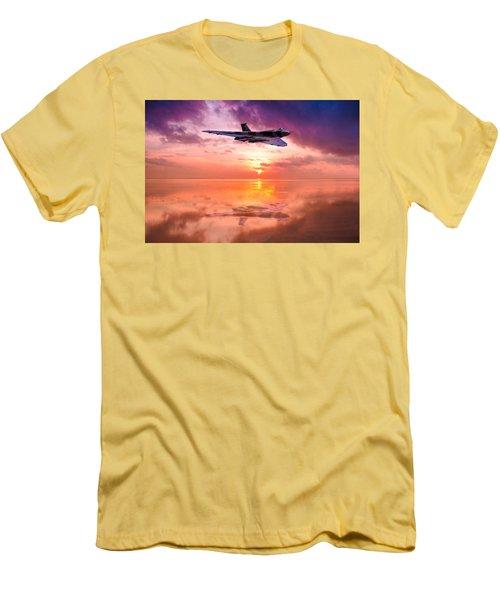 Vulcan Dawn Colour Men's T-Shirt (Athletic Fit)