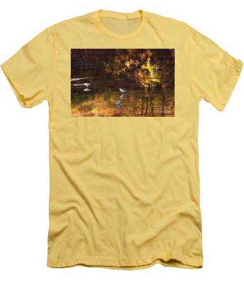 Wading In Light Men's T-Shirt (Slim Fit) by Steve Warnstaff