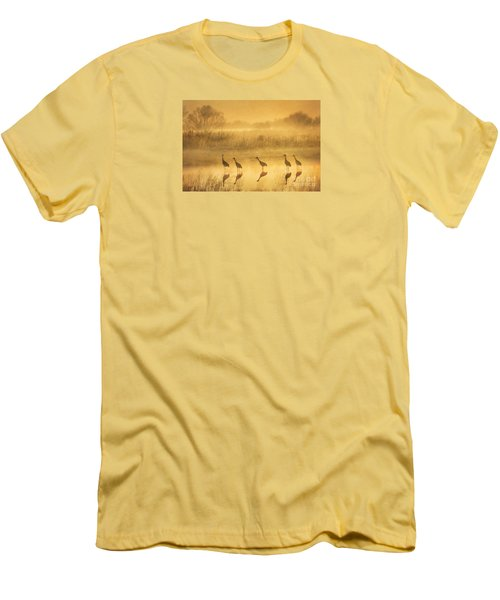 Waiting Men's T-Shirt (Slim Fit) by Alice Cahill