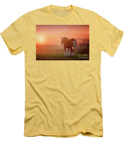 Watching The Sunset Men's T-Shirt (Slim Fit) by Tamyra Ayles