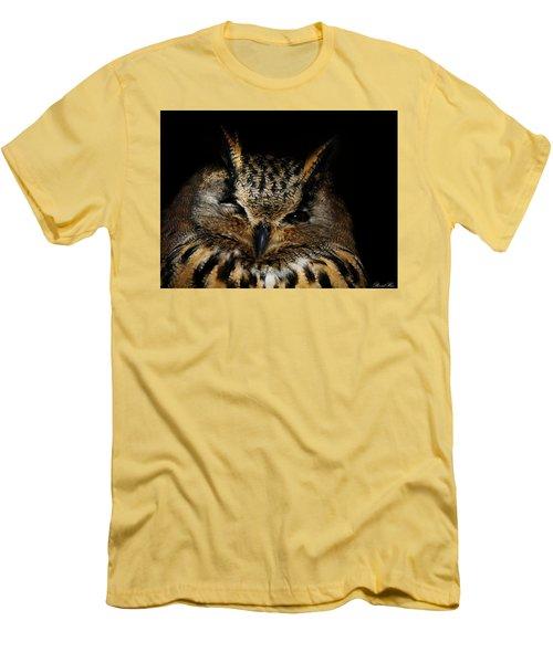 Watching You Men's T-Shirt (Slim Fit) by Bernd Hau