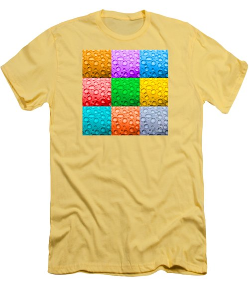 Men's T-Shirt (Slim Fit) featuring the photograph Water Color by DJ Florek