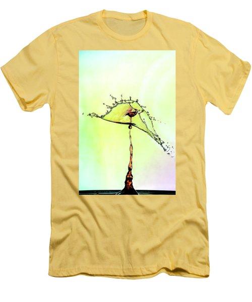 Water Drop #7 Men's T-Shirt (Athletic Fit)