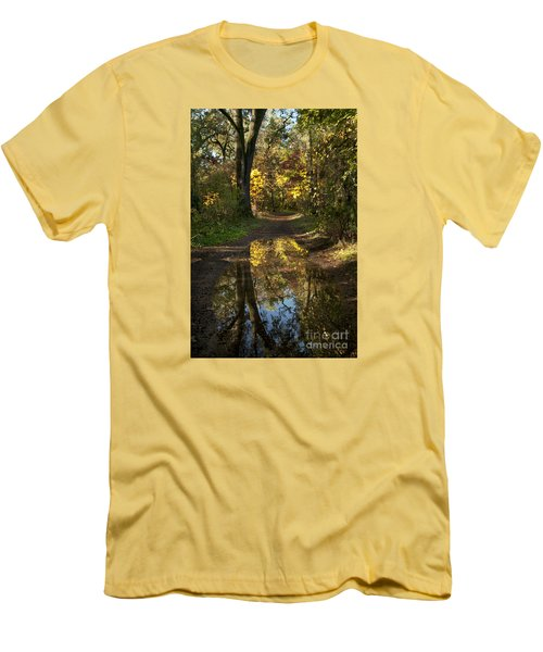 Water On The Trail Men's T-Shirt (Athletic Fit)