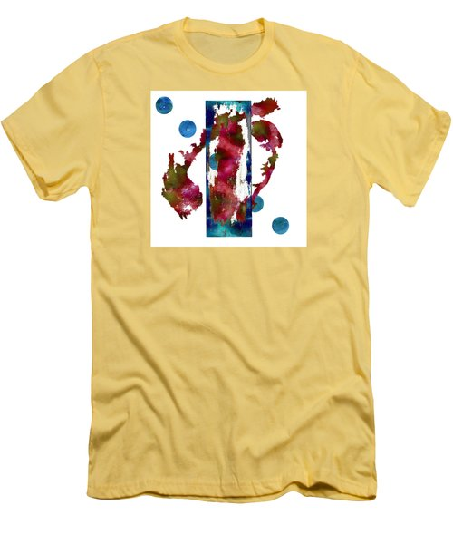 Watercolor Abstract 1 Men's T-Shirt (Athletic Fit)