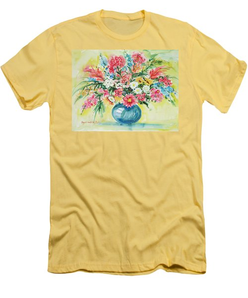 Watercolor Series 58 Men's T-Shirt (Athletic Fit)