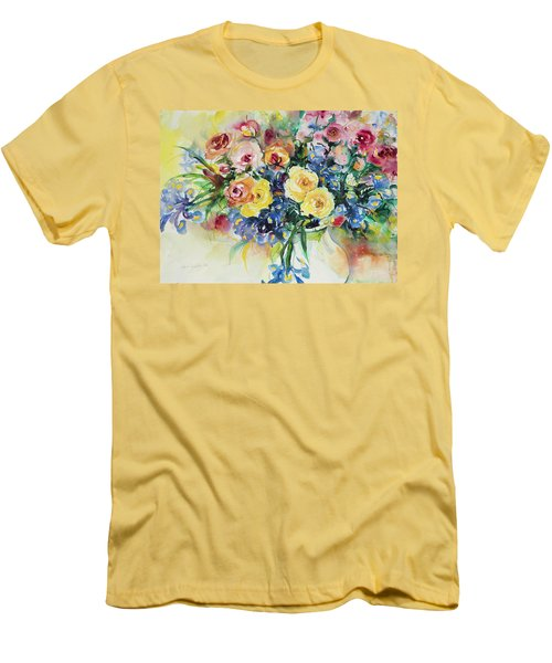 Watercolor Series 62 Men's T-Shirt (Athletic Fit)