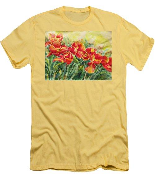 Watercolor Series No. 241 Men's T-Shirt (Athletic Fit)