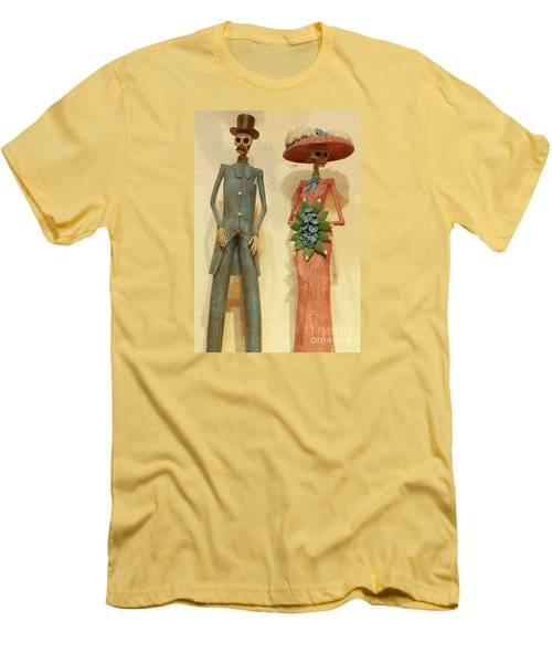 Men's T-Shirt (Slim Fit) featuring the photograph We by Anna  Duyunova