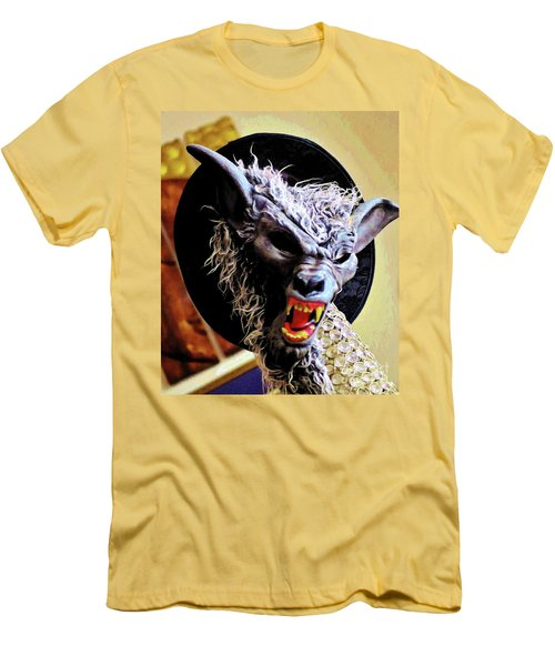 Men's T-Shirt (Slim Fit) featuring the photograph Werewolf Attack by Craig Wood