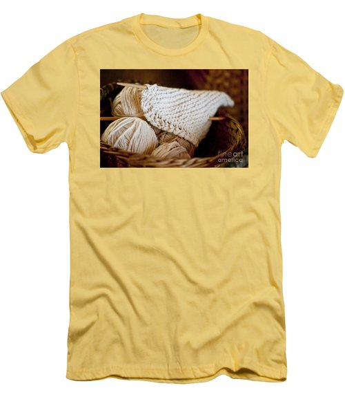 What Will It Be Men's T-Shirt (Slim Fit) by Wilma  Birdwell