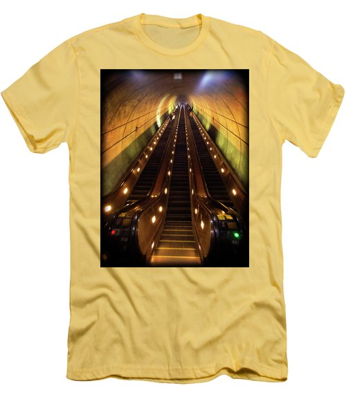 Wheaton Escalator Men's T-Shirt (Athletic Fit)
