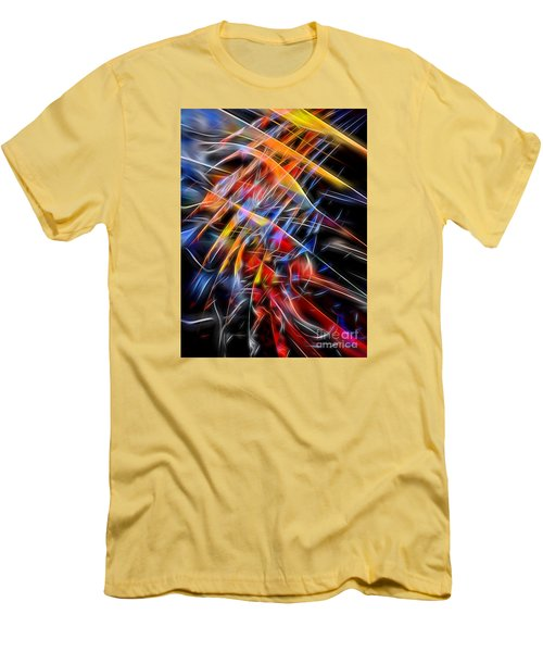Men's T-Shirt (Athletic Fit) featuring the digital art When Prayer And Worship Embrace by Margie Chapman
