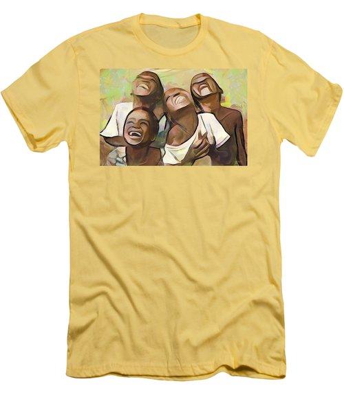 When We Were Boys Men's T-Shirt (Athletic Fit)