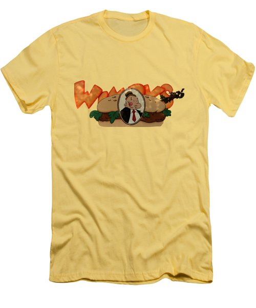 Men's T-Shirt (Slim Fit) featuring the photograph Whimpy by Tom Prendergast