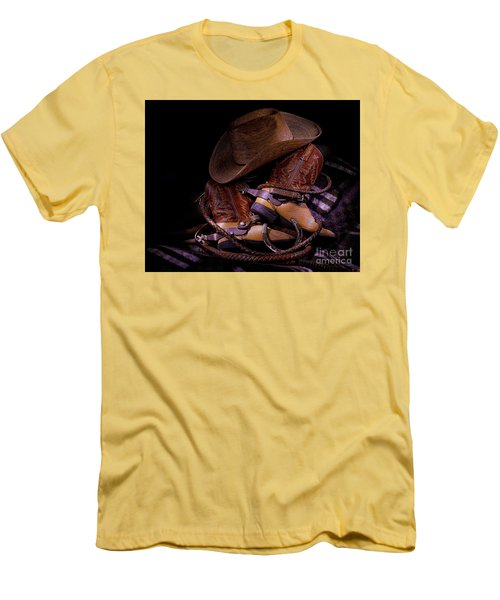 Whip It Cowboy Men's T-Shirt (Athletic Fit)