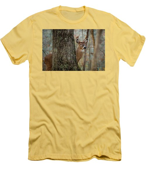 Whitetail #31 Men's T-Shirt (Athletic Fit)