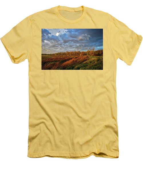 Who Has Seen The Wind? Men's T-Shirt (Slim Fit) by Keith Boone