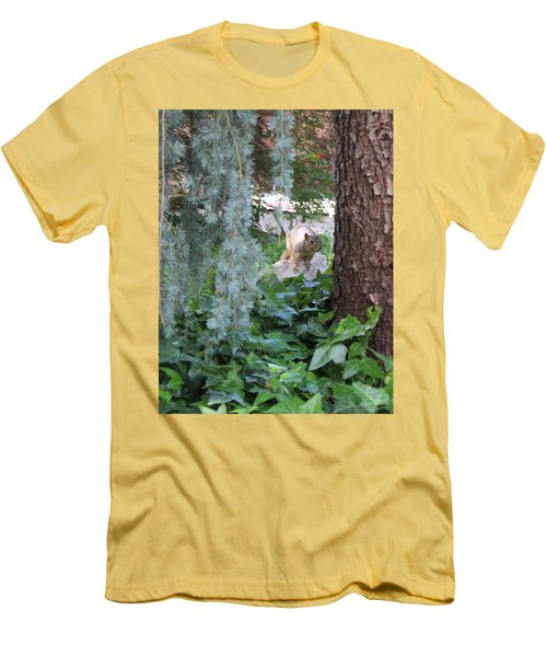Men's T-Shirt (Slim Fit) featuring the photograph Whoa Nellie by Marie Neder